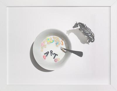 Cereal & Milk Children's Art Print