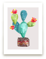 Cactus-In-Bloom by Daniela