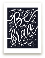 Be brave cosmic by Irina Nosova