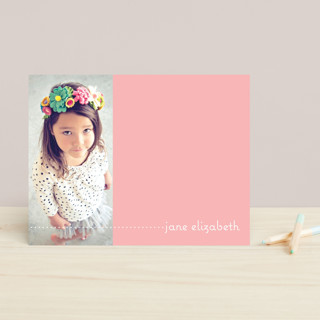 Plain Jane Children's Stationery