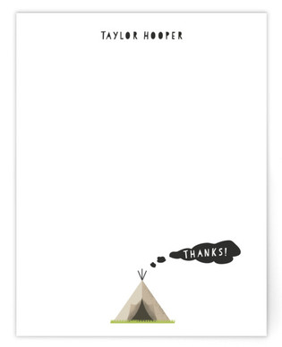 Smoke Signals Children's Personalized Stationery