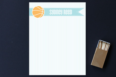 Slam Dunk Children's Stationery