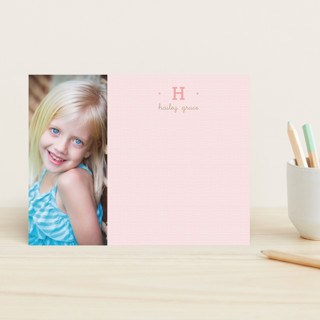 Pretty in Pink Children's Stationery