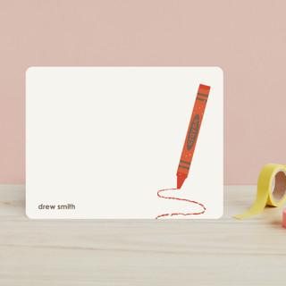Crayon Children's Stationery