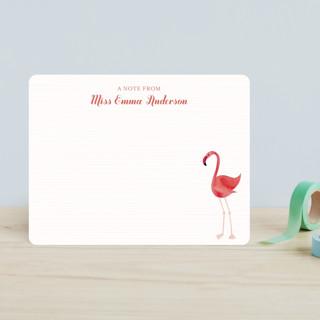 Fancy Flamingo Children's Stationery
