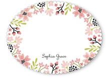 Floral Chic Children's Stationery