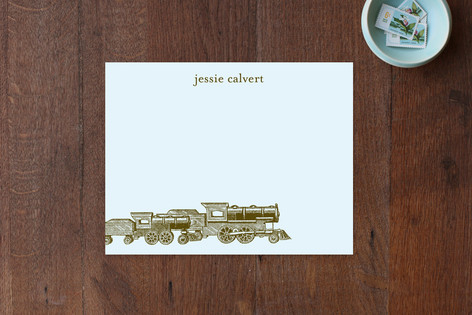 Antique Train Children's Stationery