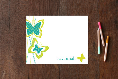 Flutterpatch Children's Stationery
