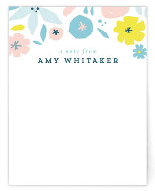 Fionna Children's Personalized Stationery
