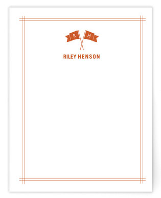 fanfare Children's Personalized Stationery