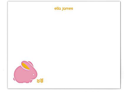 bellabunny Children's Personalized Stationery