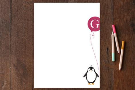 Penguin Fun Children's Stationery