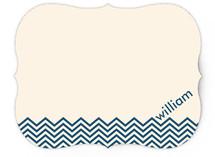 Chevron Waves Children's Stationery