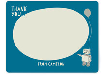 Cardboard Robot Children's Stationery