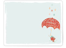Rain Bird Children's Stationery