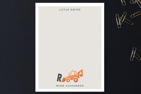 Little Loader Children's Stationery