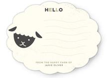 Little Sheep In The Happy Farm