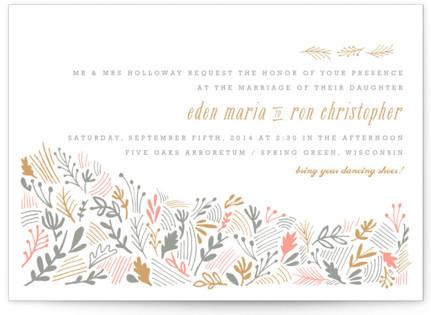 The Grainfield Letterpress Wedding Invitations