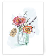 Hand-Drawn Roses and Ma... by Becky Nimoy