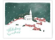 Snowy Scene 4 by Megan Kelso