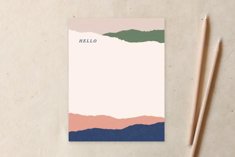 Layered Hello Non-Custom A2 Cards