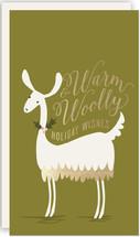 Warm & Woolly Llama Mini Cards