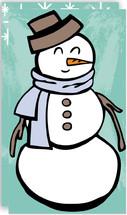 Jolly Snowman Mini Cards