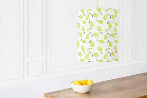 Lots of Lemons Self Launch Chandelier Lampshades