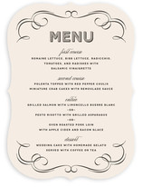 Doux Amour Menu Cards