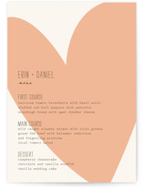 Simply Love Menu Cards