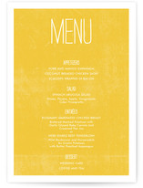 Quite Simply Menu Cards