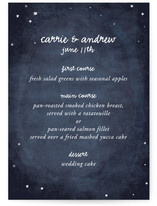 Constellations Menu Cards