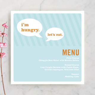 Smart Conversation Menu Cards
