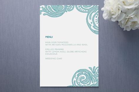 Contemporary Chic Menu Cards
