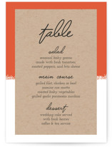 Joyfully Ever After Menu Cards