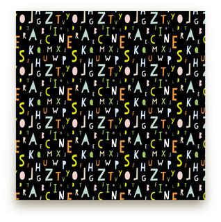 ABC Alphabet Self-Launch Fabric