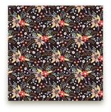Floral Chalkboard-1 by Kristie Kern