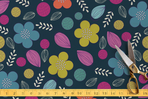 Ditsy Me Floral Fabric