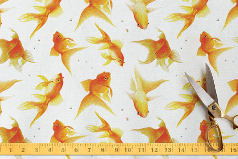 fun-size carp Fabric
