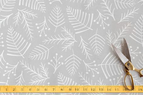 Peaceful Pine & Berry Fabric