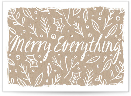 merry tableaux Self-Launch Cards