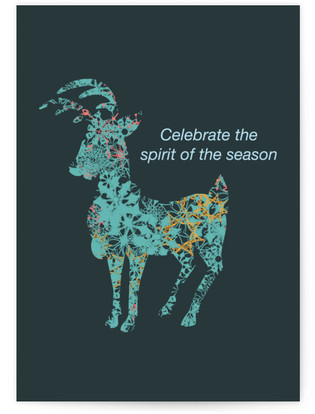 Celebrate the spirit of the season Self-Launch Cards
