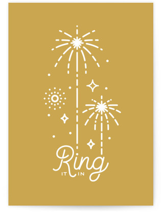 Ring In The Little Lines Self-Launch Cards