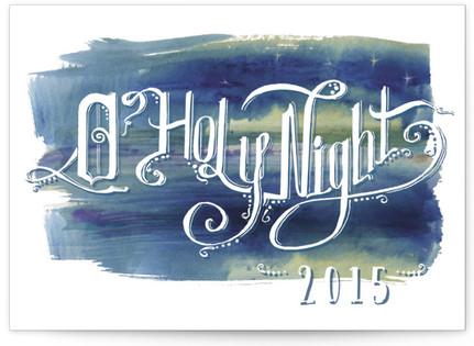 Indigo Holy Night Self-Launch Cards