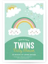Twin Rainbows by merry mack creative