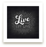 Let Live by Ann Gardner