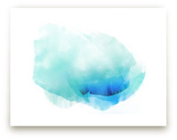 Cloud Rise Blues by kelli hall