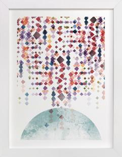 Modern Spectrum  Art Print