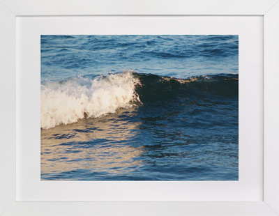 Portrait of a Wave  Art Print