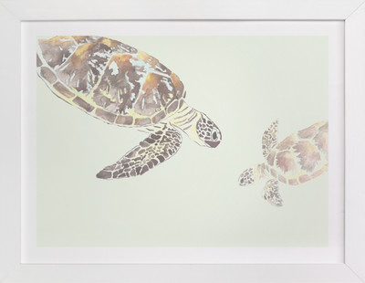 Leatherback  Art Print